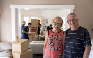 Ian & Mary Grant use Auckland Moving